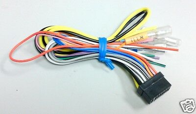 ALPINE Wire Harness CDA 9821 9807 7878 CDE 7826 7872 W