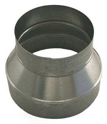 "Ductmate 8"" x 4"" Round Reducer Duct Fitting, 26 ga., GRR8P4PGA26"