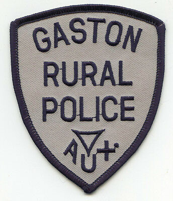 GASTON NORTH CAROLINA NC AUXILIARY RURAL POLICE PATCH