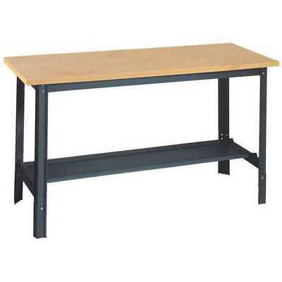 EDSAL UB500 Workbench,60Wx24Dx29 to 34 in. H