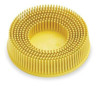 3M 18736 Tapered Bristle Disc, 3 In Dia, 80G