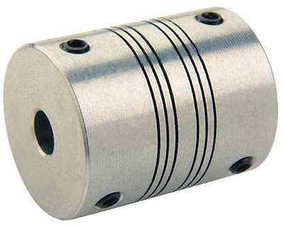 RULAND MANUFACTURING PSMR19-6-5-A Coupling, 4 Beam Set Screw, Bore 6 x 5 mm