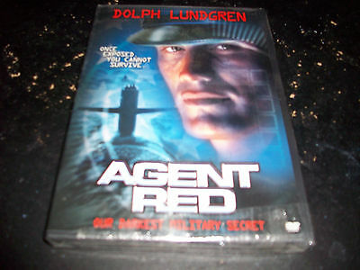 DOLPH LUNDGREN!! AGENT RED!!! BRAND NEW & FACTORY SEALED!!!!!