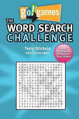 Go! Games The Word Search Challenge by Terry H. Stickels (English) Paperback Boo