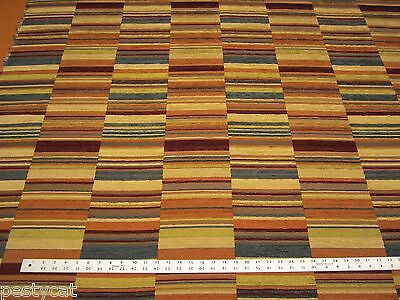 5 1/4 yards of patchwork chenille upholstery fabric r1302