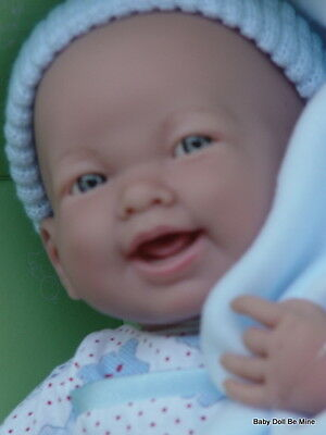 "New in Box * Berenguer 15"" * La Newborn * Soft Body Doll in Blue # 18782"