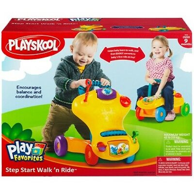 New Playskool Play Favorites Step Start Walk 'n Ride 05545 Hasbro Walker