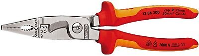 Knipex 13 86 200 VDE Pliers Electrical Installation Multi Component Grips 200mm