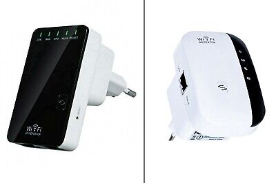 Ripetitore Wireless N Lan 2.4 Ghz Wps Wi-Fi Extender Wireless Wlan 300 Mbps