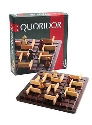 Quoridor: Mini Travel Maze Game by Gigamic - Ages 8+ - 2-4 Players - 10-20 mins