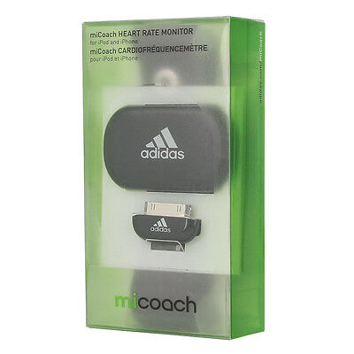 ADIDAS miCoach HEART RATE MONITOR iPHONE iPOD HERZFREQUENZMESSER + GURT V42040