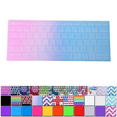"Silicone Keyboard Skin Cover Film For Apple Macbook Pro Retina & Air 13"" 15"" 17"""