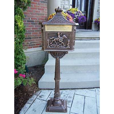 Oakland Living Chelsea Mail Box, Antique Bronze - 6036-AB