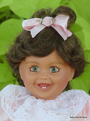 New My Twinn Doll Toddler * Charlotte Green Eyes Golden Brown Hair FREE OUTFIT