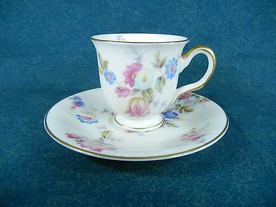 Castleton China Sunnybrooke Demitasse Cup and Saucer Set