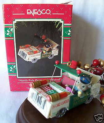 Enesco Ornament 1992 North Pole Peppermint Patrol  3rd in Bits & Pieces Series