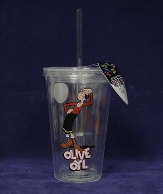 Olive Oyl Collectible 'Tumblerz' Cup / Mug, New, Popeye the Sailor