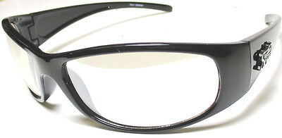 Night riding glasses motorcycle clear lens lenses eye wear Steadfast Cycles