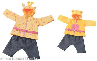 ZAPF Creations CHOU CHOU Baby Doll Reversible Jacket Doll Clothing Outfit Only