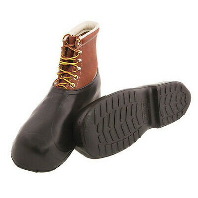 Overshoes, Mens, L, Pull On, Black, Rubber, PR TINGLEY 1300