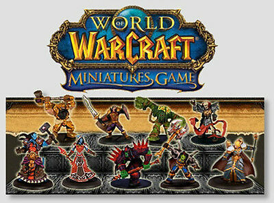 WOW WARCRAFT MINIATURES MINI : COMPLETE CORE SET 66 MINIS w/Cards & EPICS!
