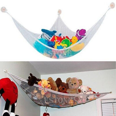 Large Deluxe Pet Organize Corner Stuffed Animals Toys Toy Hammock Net Hot