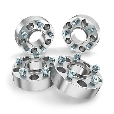"""4pc 50mm (2.0"""") Hubcentric 5x100 Wheel Spacers 