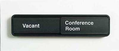 Conference Room Sign,2 x 9In,WHT/BK,ENG MMF INDUSTRIES 2837216W04