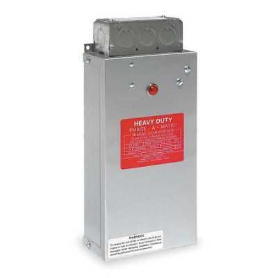 PHASE-A-MATIC PAM-1200HD Phase Converter,Static,8-12 HP