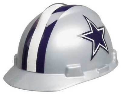 MSA 818392 NFL Hard Hat, Dallas Cowboys, Gray/Blue