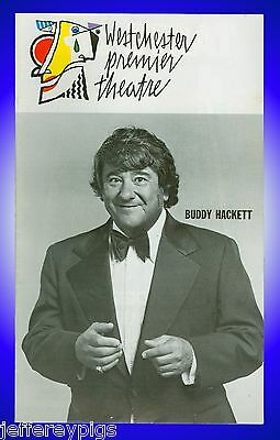 Playbill + Buddy Hackett at Westchester Premier Theatre + Joey Heatherton