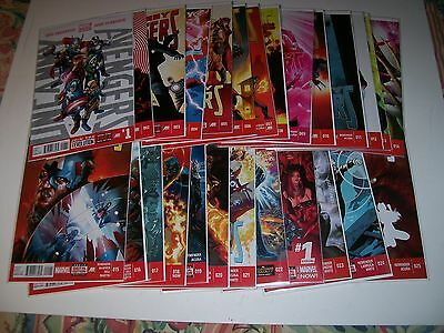Uncanny Avengers Volume 1 (2013) #1-25 & Annual 1 Marvel Now Lead in to Axis