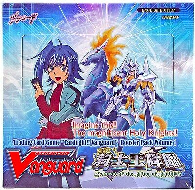 Cardfight!! Vanguard Booster Box Vol.1 Descent of the King of Knight English