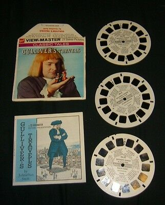 GULLIVER'S TRAVELS CLASSIC TALE 1961 View-Master Reels GAF HARD TO FIND HTF RARE
