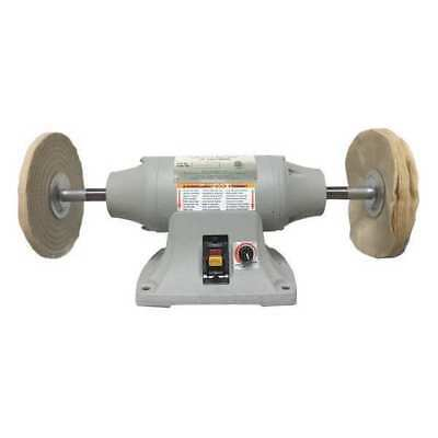 DAYTON 1FYV4 Buffer, 8 In, 120 V, 3/4 HP, 5/8 In Shaft