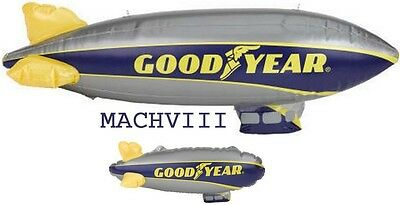 "New Style GOODYEAR Blimp Inflatable LOT 33"" 12"" Man Cave, Scenery for Slot Cars"