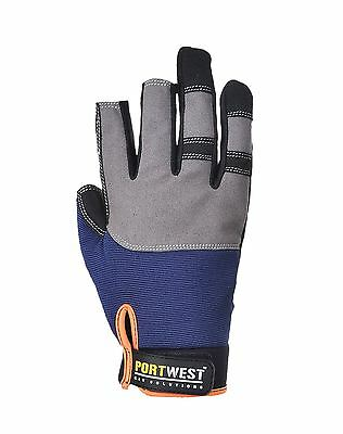 Portwest Powertool Pro High Performance Work Glove Safety Workwear Garage A740
