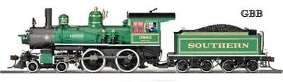 HO SOUTHERN 4-4-0 American Locomotive DCC Equipped Bachmann Spectrum New 83406