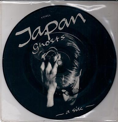 "Japan Ghost + The Art Of Parties (Version) 182 Virgin 7"" 45 Giri Picture Disc"