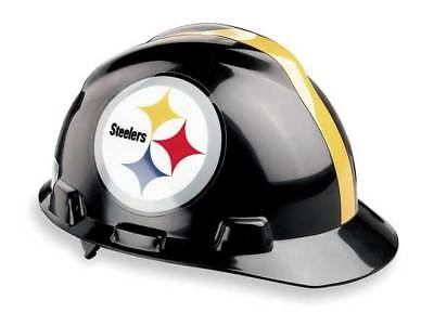 MSA 818407 NFL Hard Hat, Pittsburgh Steelers, Blk/Ylw