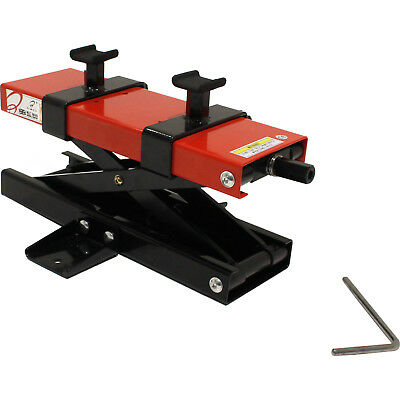 Black Pro Range B5147 Motorcycle Bike 500Kg Workshop Scissor Lift Jack Stand