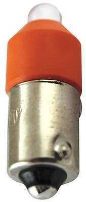 EATON E22LED120ON Miniature LED Bulb,120 Volts,Orange