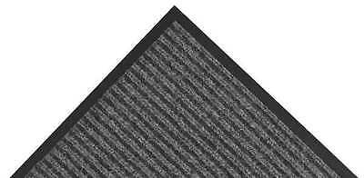 NOTRAX 117S0046CH Carpeted Entrance Mat, Charcoal, 4 x 6 ft.