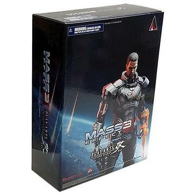 Mass Effect 3 Commander Shepard Play Arts Kai Figure (2012) - New - Toys &