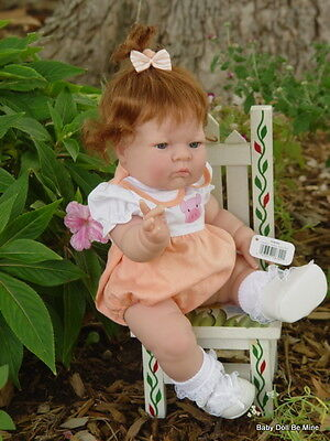 """New In Box Berenguer 14"""" OOAK Sweet Real Girl Doll with Makeover"""