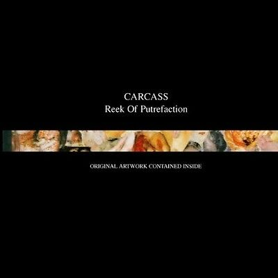 Carcass - Reek Of Putrefaction  Cd Neu