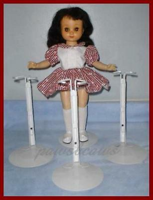 "3 Kaiser Doll Stands for Vintage P-90 14"" Betsy McCall 14"" & 16"" Inch Tall TONI"