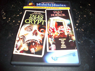 Midnite Movies Double Feature: Tales From The Crypt & Vault Of Horror! Used Mint