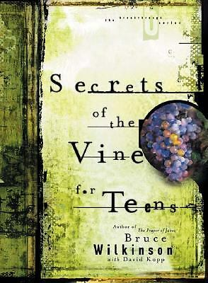 Bruce Wilkinson - Secrets Of The Vine For Teens (2003) - Used - Compact Dis