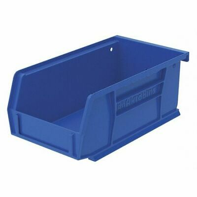 "Blue Hang and Stack Bin, 7-3/8""L x 4-1/8""W x 3""H AKRO-MILS 30220BLUE"